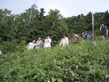 2010年夏合宿山下り