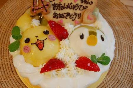 ポケモンケーキ