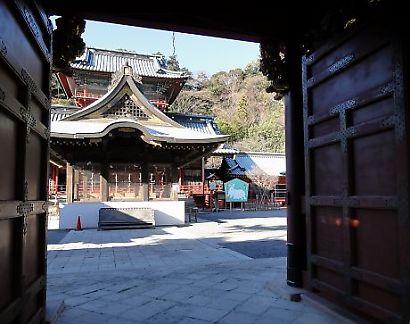 初詣の準備浅間神社-6