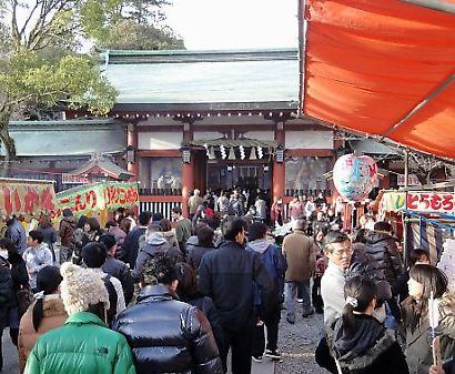 静岡浅間神社初詣-2