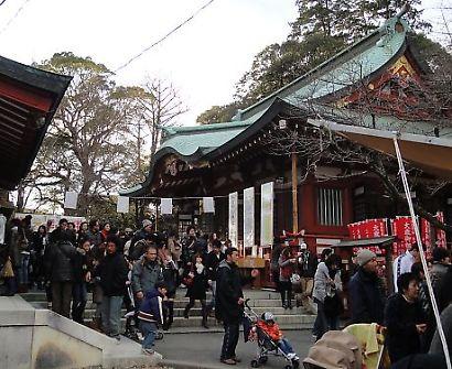 静岡浅間神社初詣-4