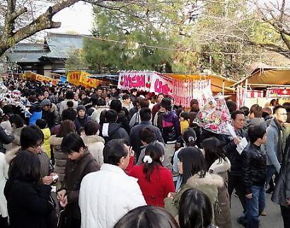 静岡浅間神社初詣-5