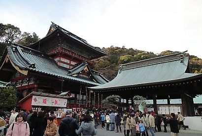 静岡浅間神社初詣-6