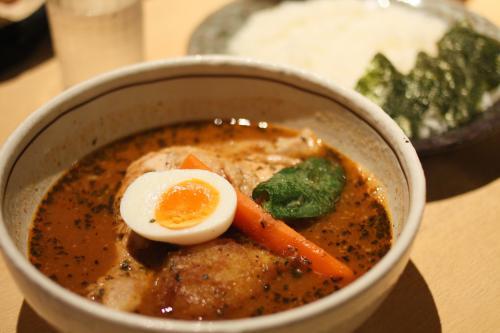札幌スープカレーの店、らっきょ