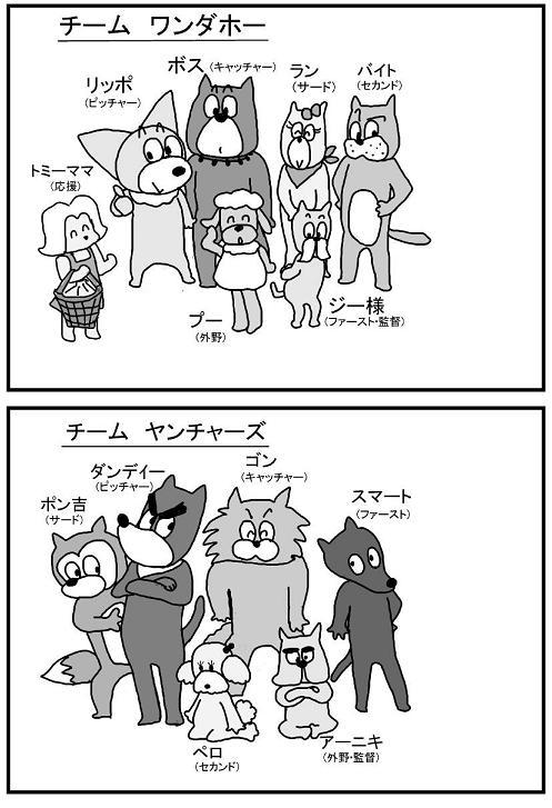メンバー紹介 ワンダホーほか