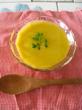 南瓜の冷製スープ2