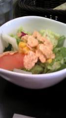 たんぷるたんランチ サラダ