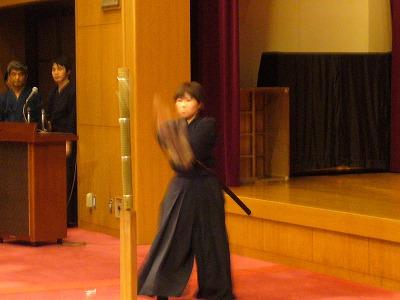 天然理心流_たづくり演武2010据物斬1