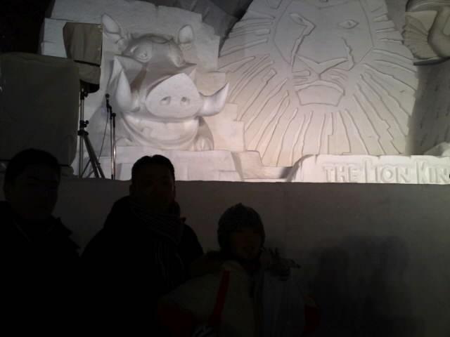 雪祭り ライオンキング
