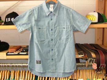 シャンブレーシャツ1
