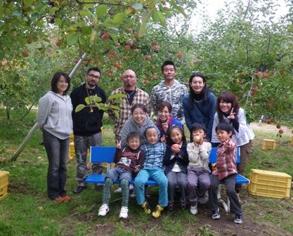 極楽父母会りんご狩り 022