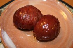 栗の渋皮煮(頂き物)