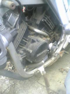 バイクのエンジンその1