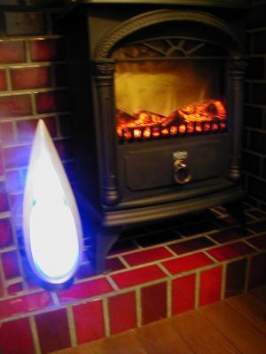 暖炉とアロマ2