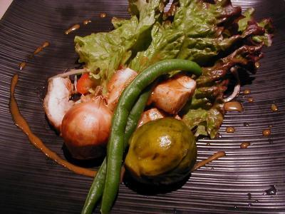 若鶏と彩り野菜2