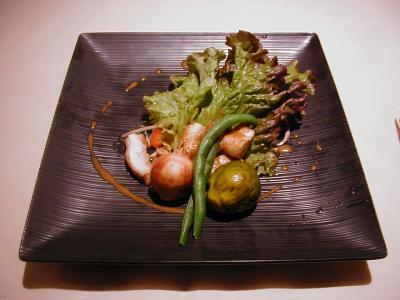 若鶏と彩り野菜1