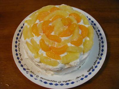 フルーツケーキ1