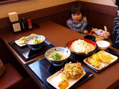「釜揚げ讃岐うどん 丸亀製麺」でランチ