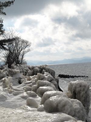 しぶき氷@天神浜_2010/01/29