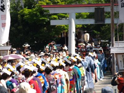 七行器行列@会津田島祇園祭_2010/07/23