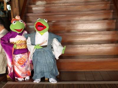 カエルさん@会津田島祇園祭_2010/07/23昨夏