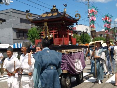 神輿渡御@会津田島祇園祭_2010/07/23昨夏