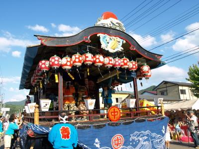 屋台歌舞伎@会津田島祇園祭_2010/07/23昨夏