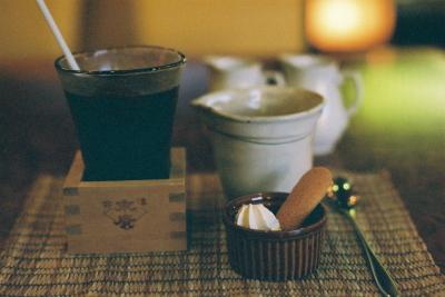 仕込み水の水出しカフェ@喫茶 杏
