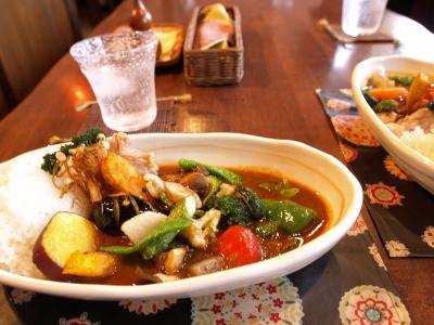 野菜チキンカレー(辛さ:ヴィーナス)@楽天ハンモック