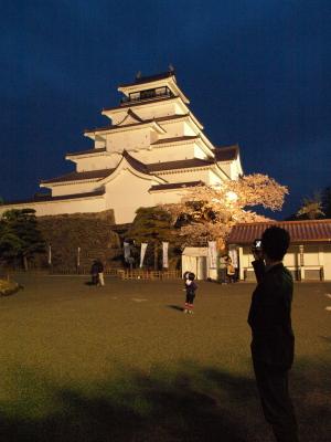 nikko81さん@夜の鶴ヶ城