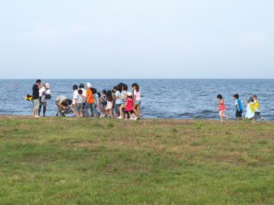 ZIPPEI&ダイスケさん@天神浜オートキャンプ場