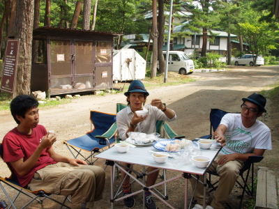 ダイスケさん&スタッフの方々@天神浜オートキャンプ場