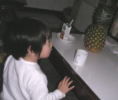 初パイナップル