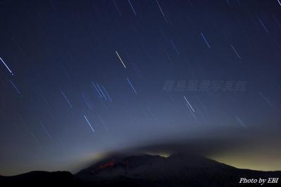 桜島夜間撮影03
