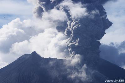 桜島の噴火_02