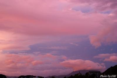 今朝の桜島