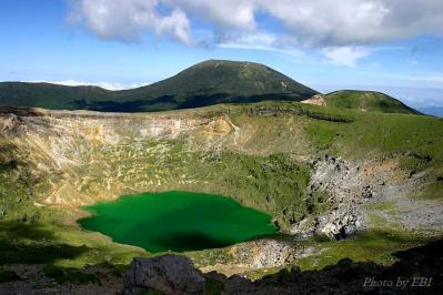 2005年9月19日撮影の新燃岳