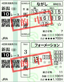 瀬波温泉特別(2011.8.14 新潟)