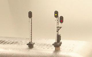 NゲージLED信号機2
