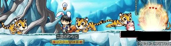 虎が大量発生