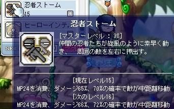 忍者ストーム30成功