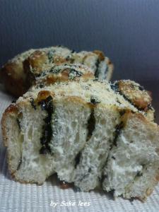 20100130海苔チーズパンby酒粕酵母
