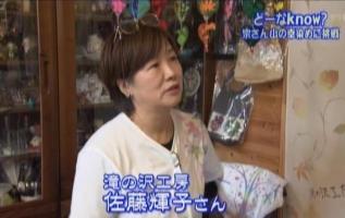 佐藤輝子TV①