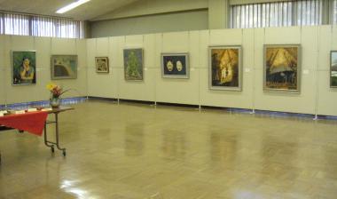 藍日本画展
