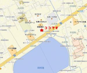 山北食堂地図