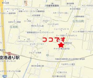 長江金子店地図