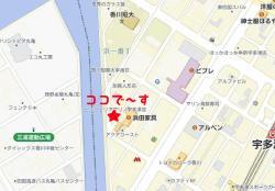 マリノ宇多津地図