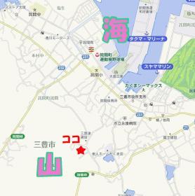 石鎚神社地図
