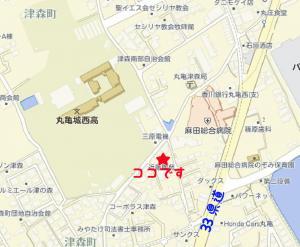 器心屋地図