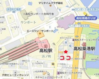 珈琲矢の地図